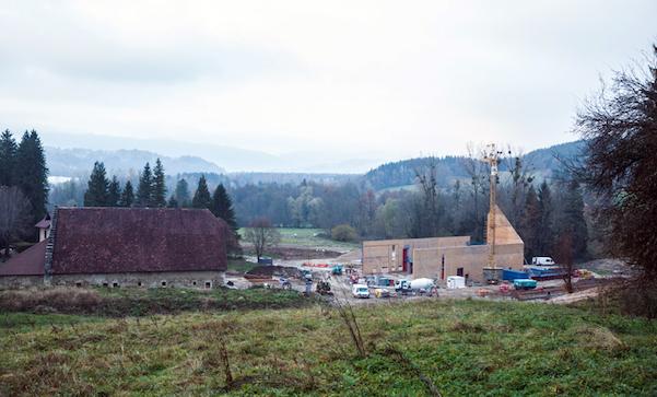 Aiguenoire - Nouveau site de production des Chartreuses
